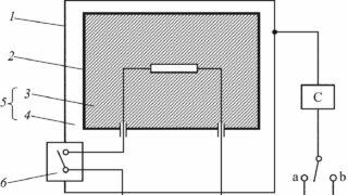 Принципиальная схема для измерения тока утечки приборов класса II 1280-720