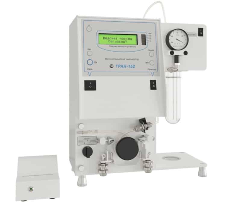 Автоматический анализатор количества механических примесей ГРАН-152