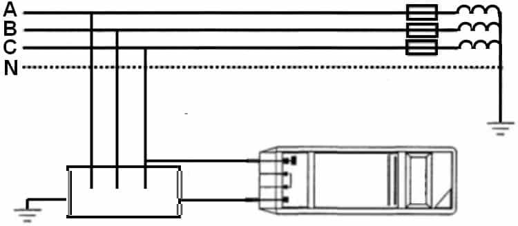 Испытание надежности заземления корпусов электрооборудования