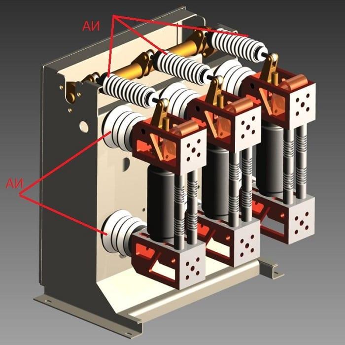 Пример аппаратных изоляторов