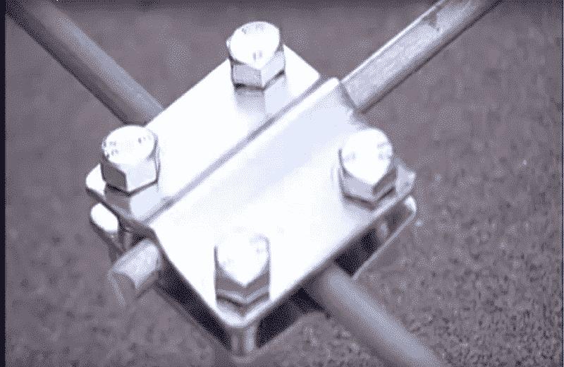 Болтовое соединение проводников