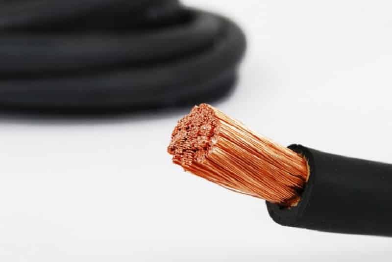 Гибкий одножильный кабель КГ большого сечения
