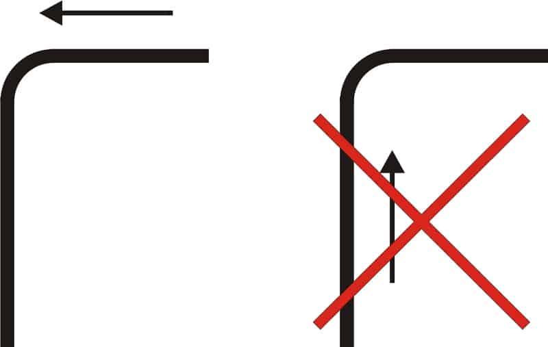Правила выбора направления протяжки кабелей в трубах с поворотами