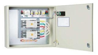 Пример электрического щита АВР