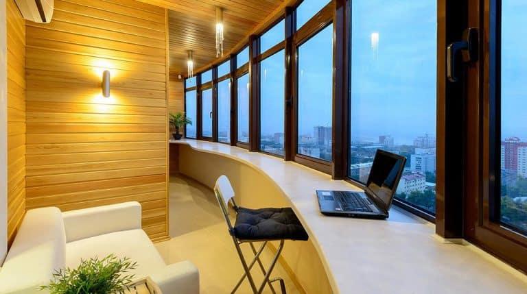 Балкон как отдельное помещение