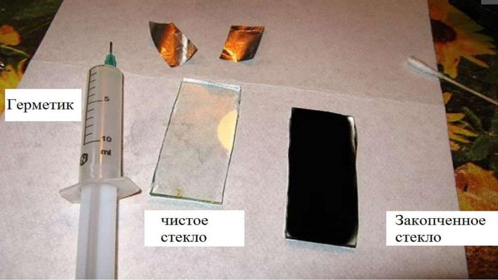 Элементы для изготовления обогревателя