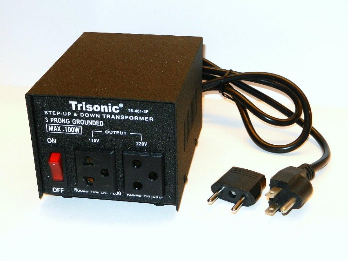 Пример обратимого маломощного трансформатора с возможностью согласования типов розеток
