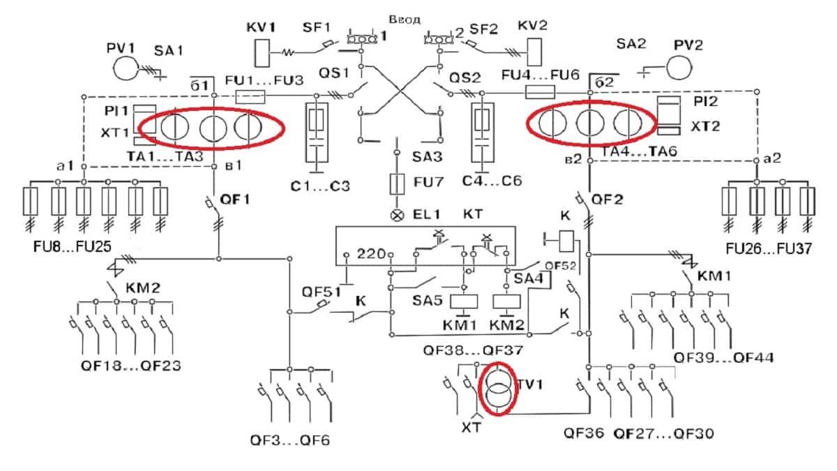 схема УВР-93-2