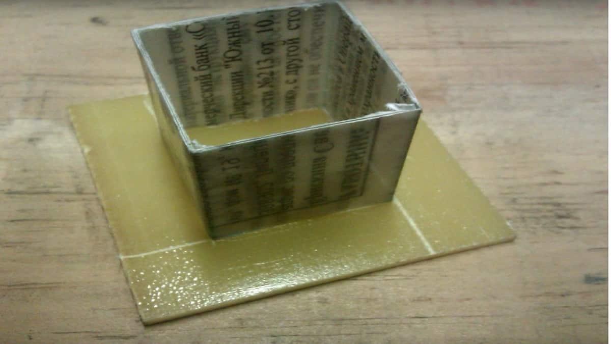 Изготовьте каркас для трансформатора