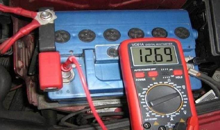 Измерение с помощью мультиметра
