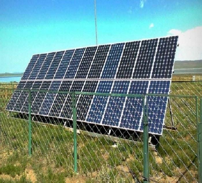 Отдельно стоящие солнечные батареи