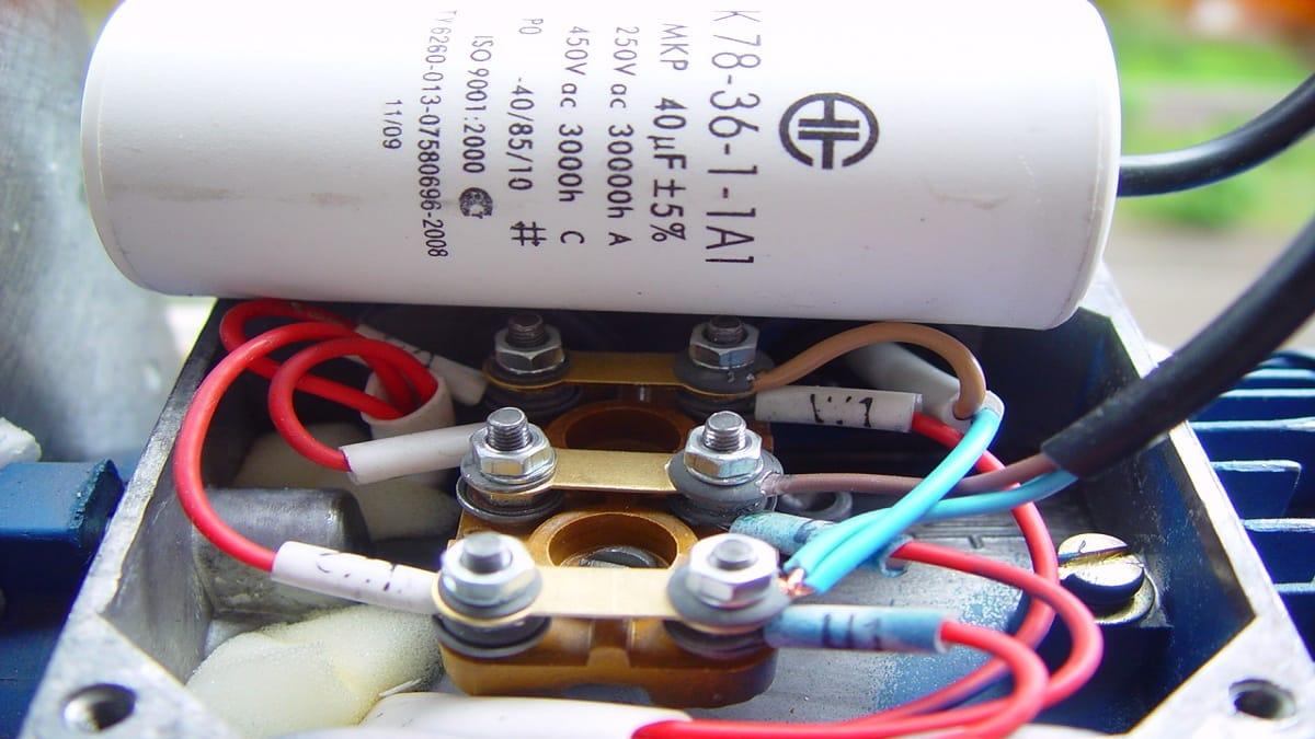 Подключение пускового конденсатора