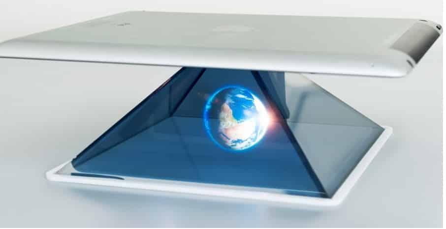 Пример голографического проектора