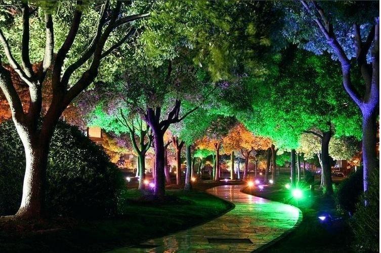 Прожектор для декоративной подсветки