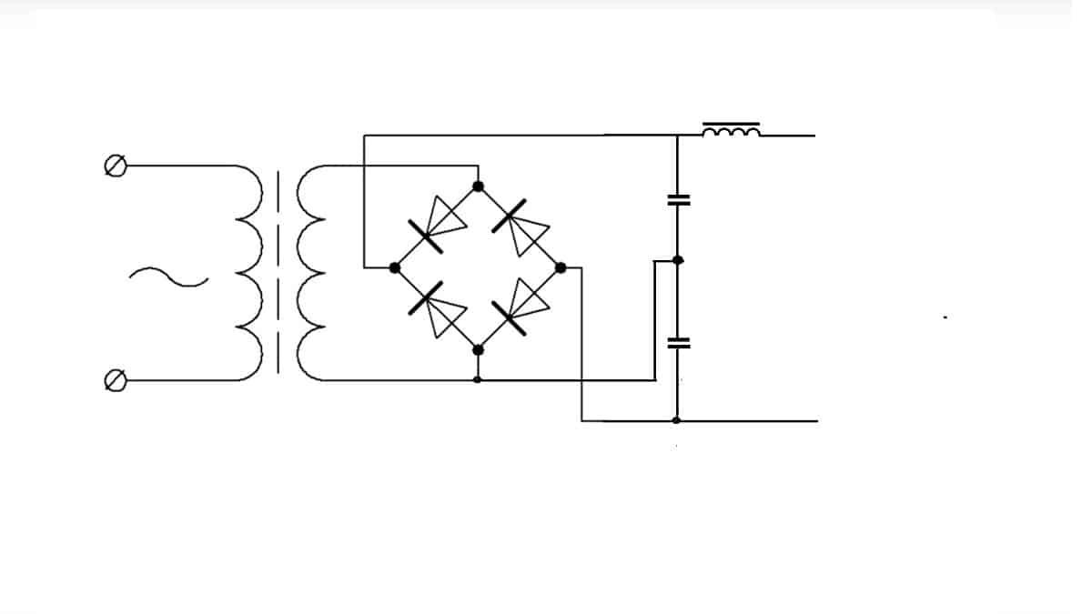 Схема подключения сглаживающего устройства