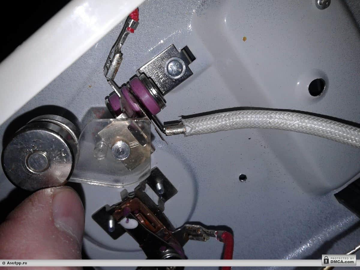Натягиваем термотрубку на соединение
