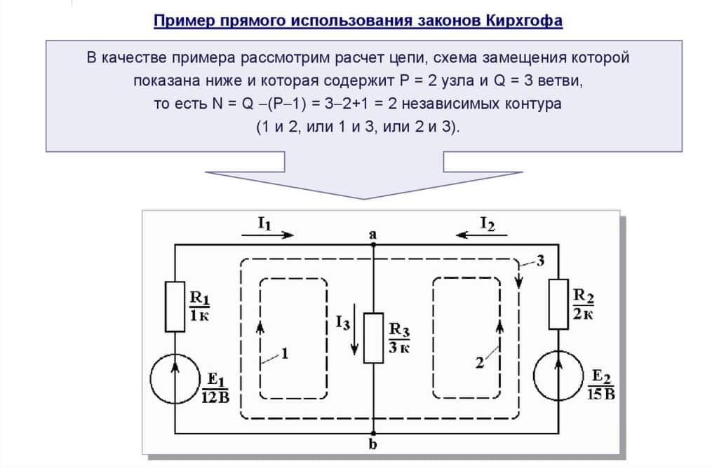 Пример для расчёта