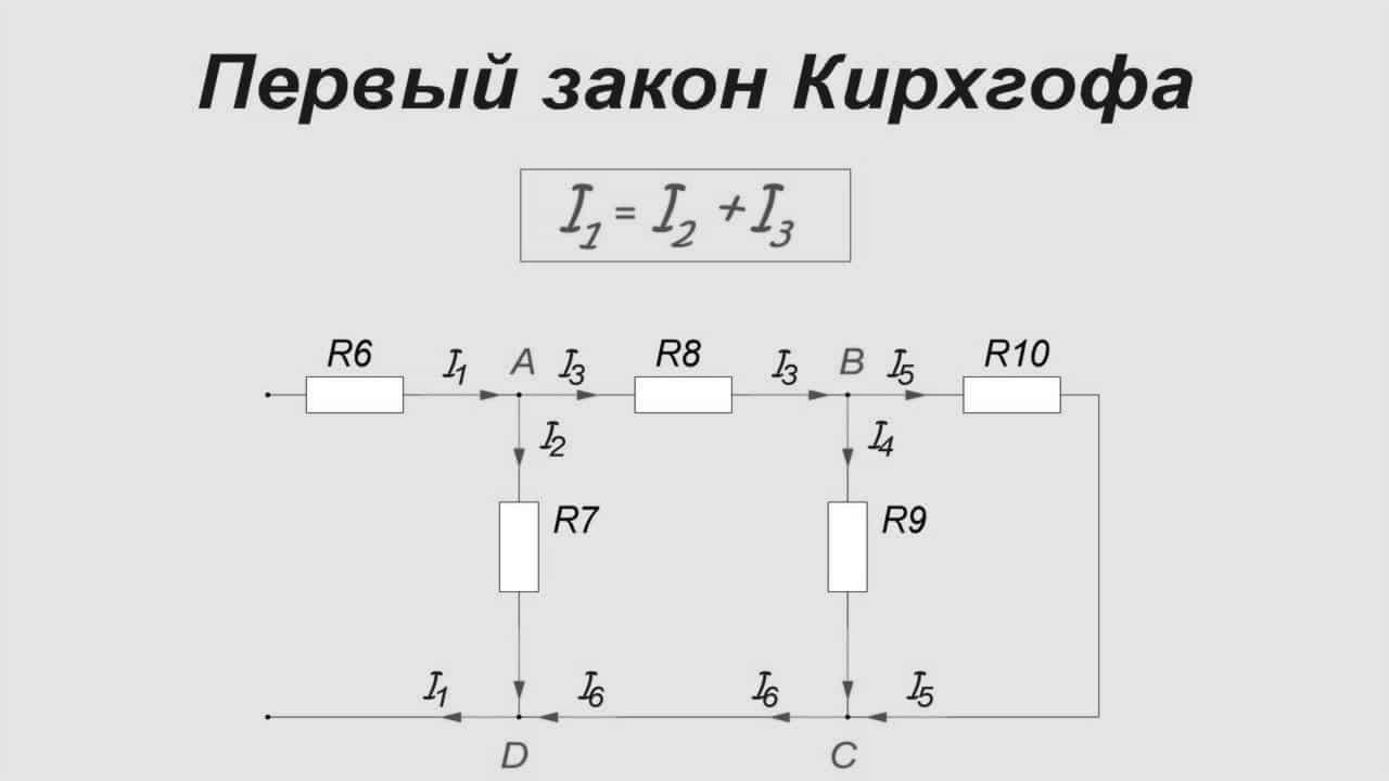 Схема контура