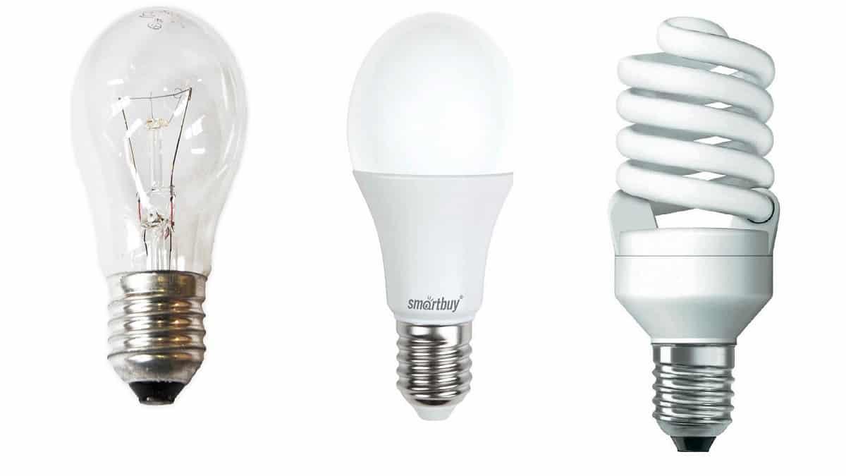 Замена ламп накаливания