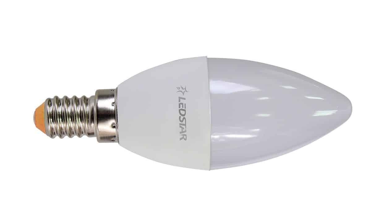 Лампа с цоколем Е14