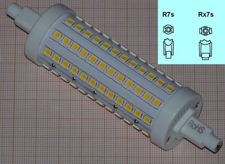 Лампа с цоколем R