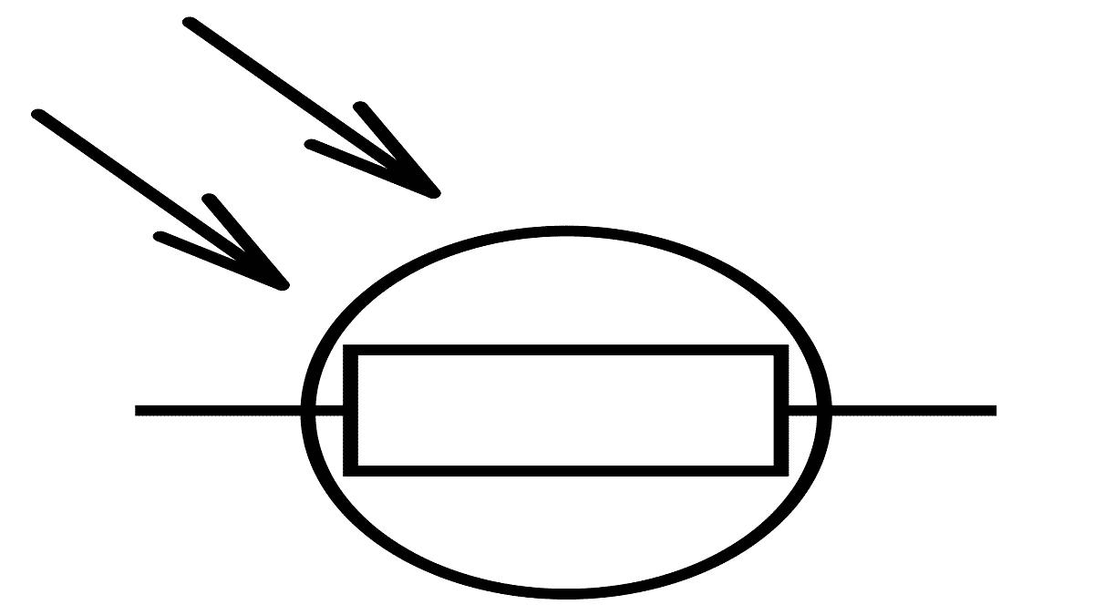 Фоторезистор на схеме