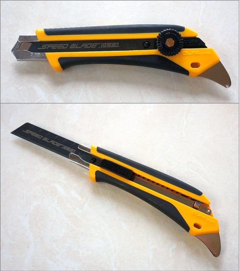Канцелярским ножом