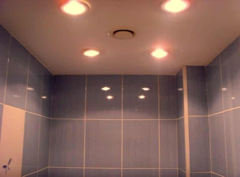 Софиты в ванной