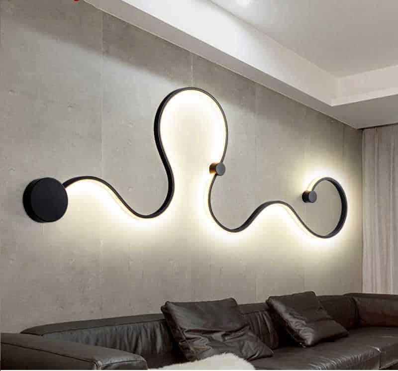 Светодиодное освещение стен