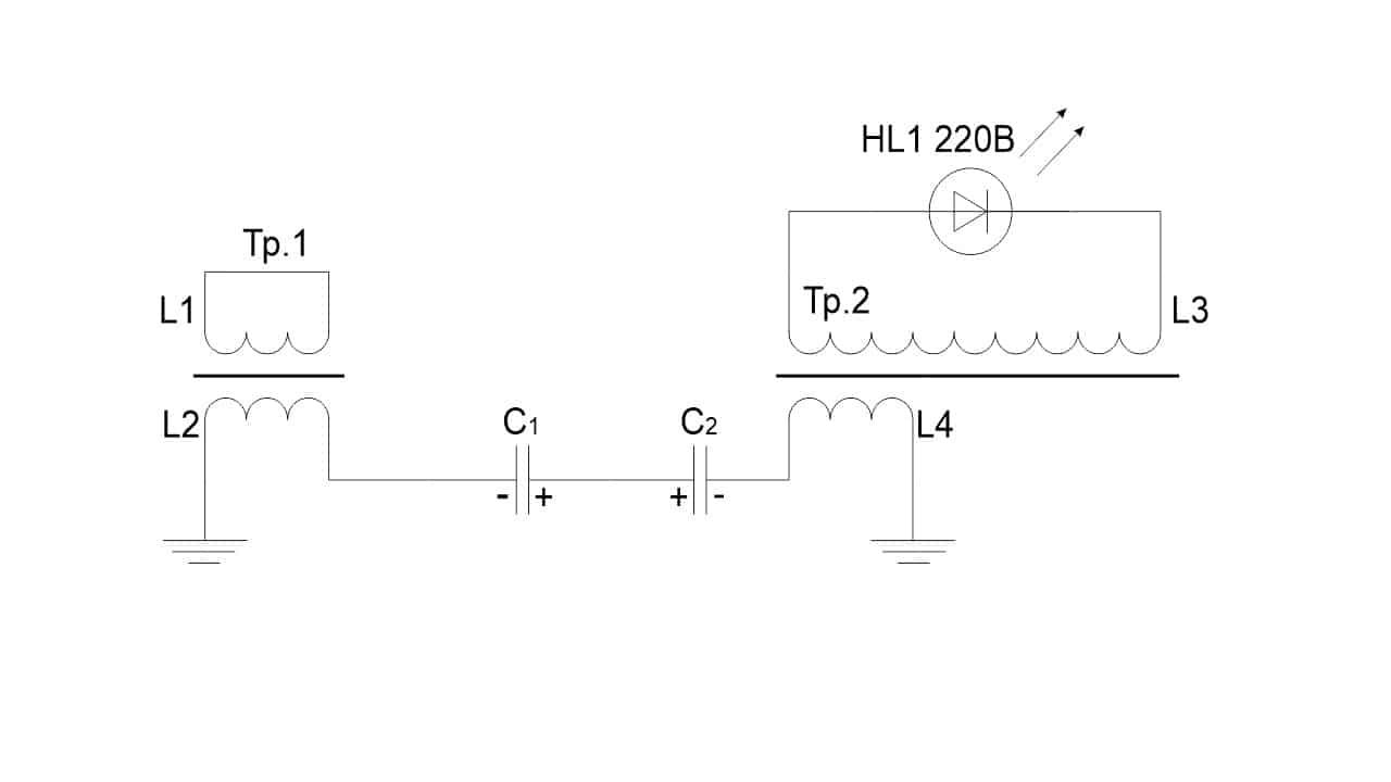 Схема получения электричества по Белоусову