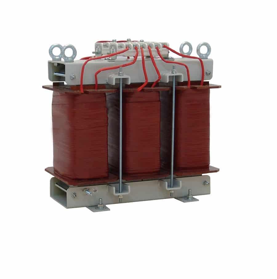 Сухой трехфазный трансформатор