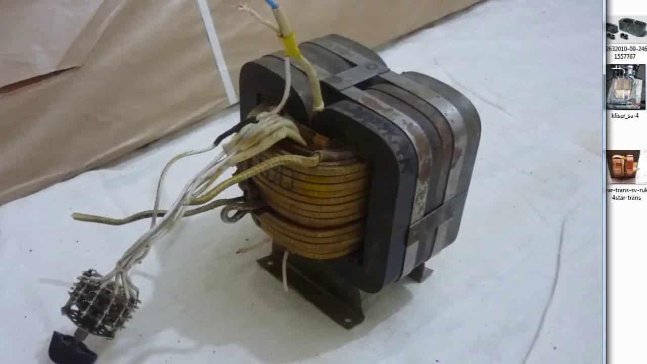 Трансформатор для сварочного полуавтомата на броневом магнитопроводе