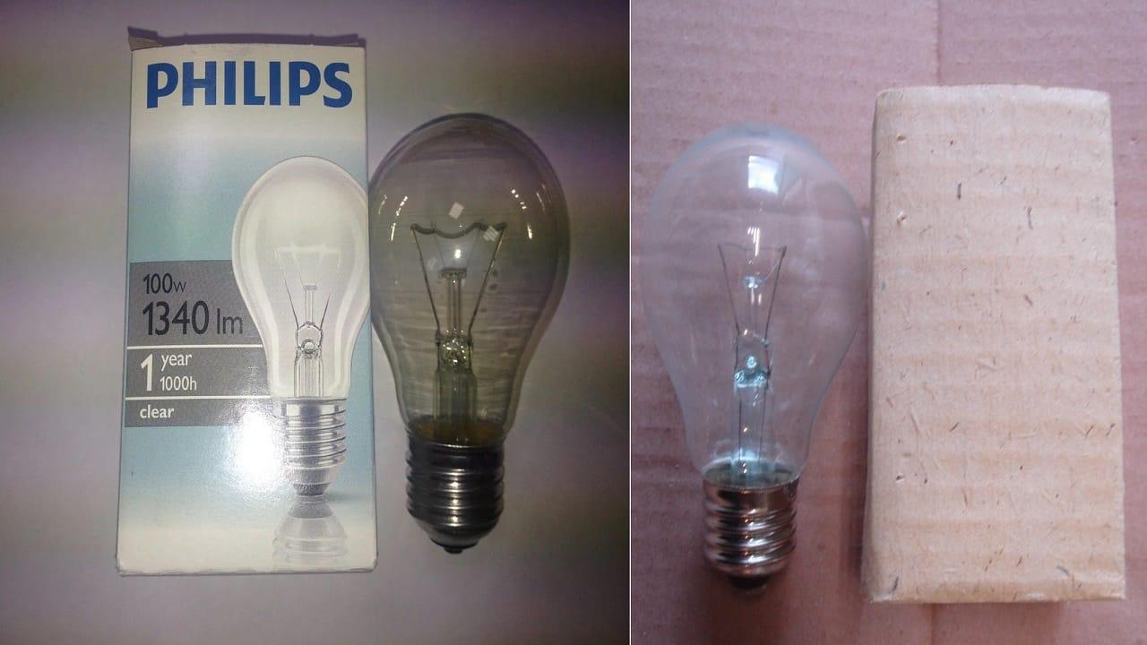 Качество лампы от разных производителей