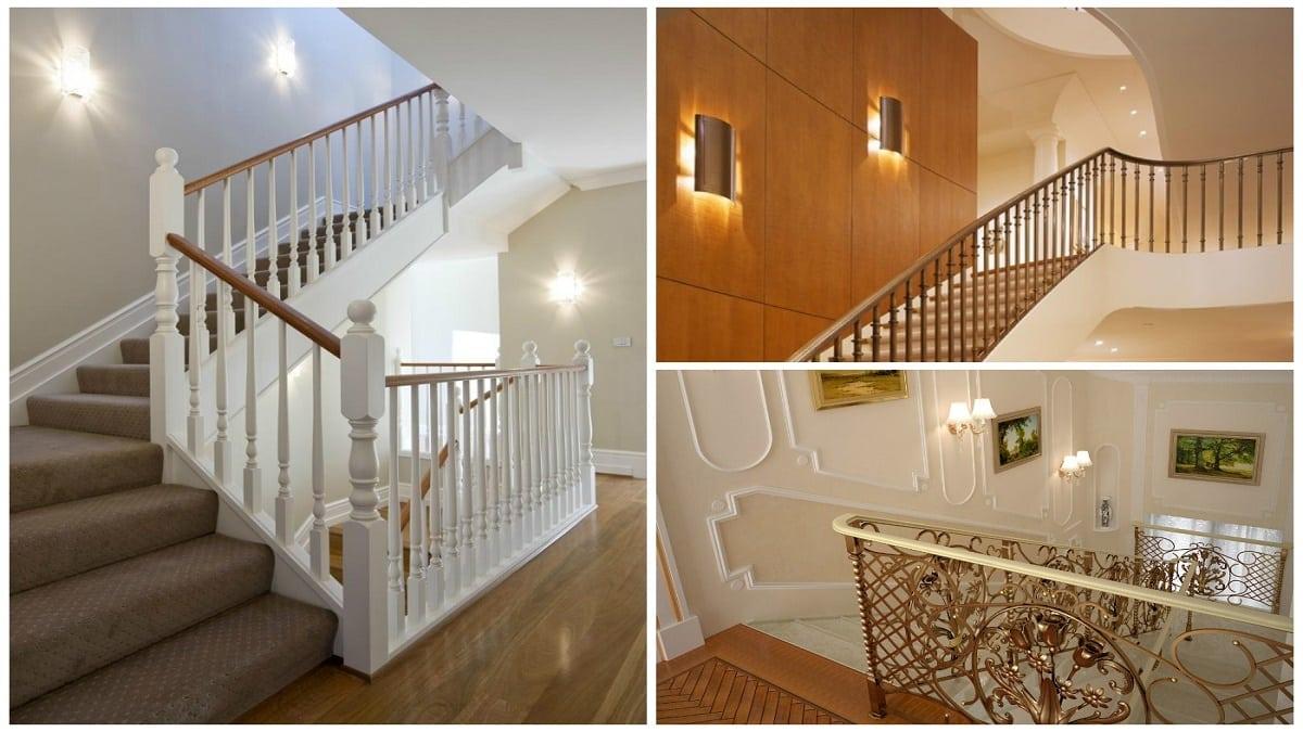 Настенные бра для освещения лестниц