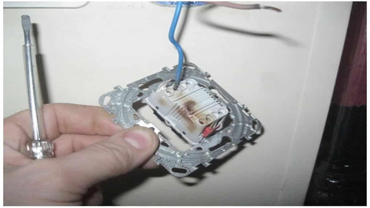 Некачественный выключатель