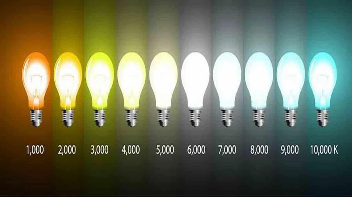 Цветовая температура свечения