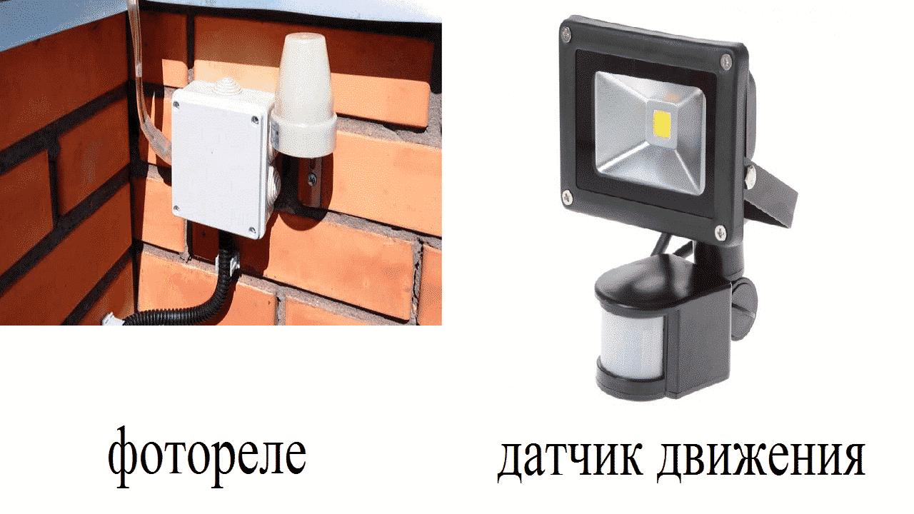 Использование автоматической системы управления освещением
