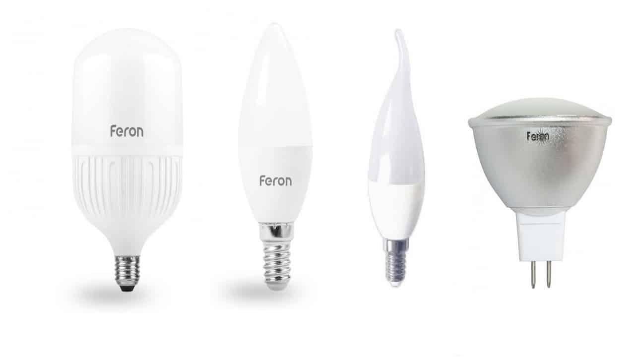 Лампы Feron