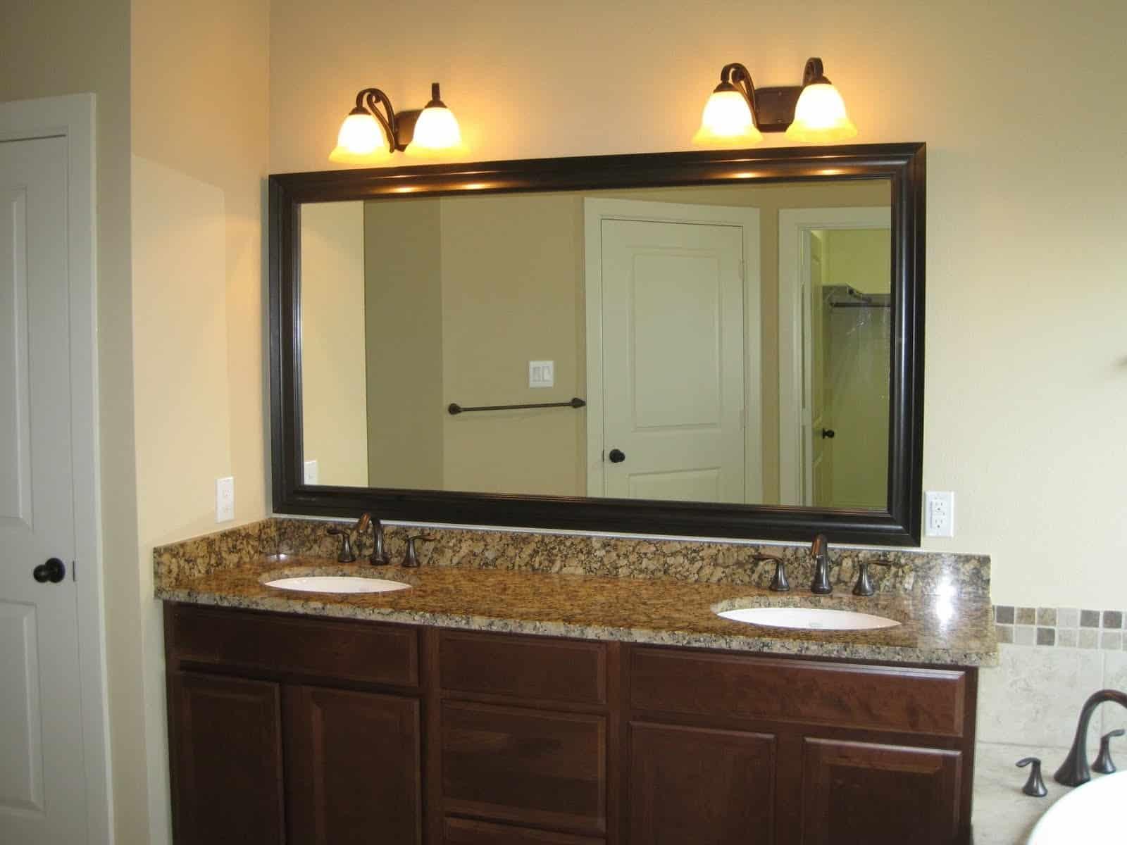 Подсветка зеркала в ванной комнате-2