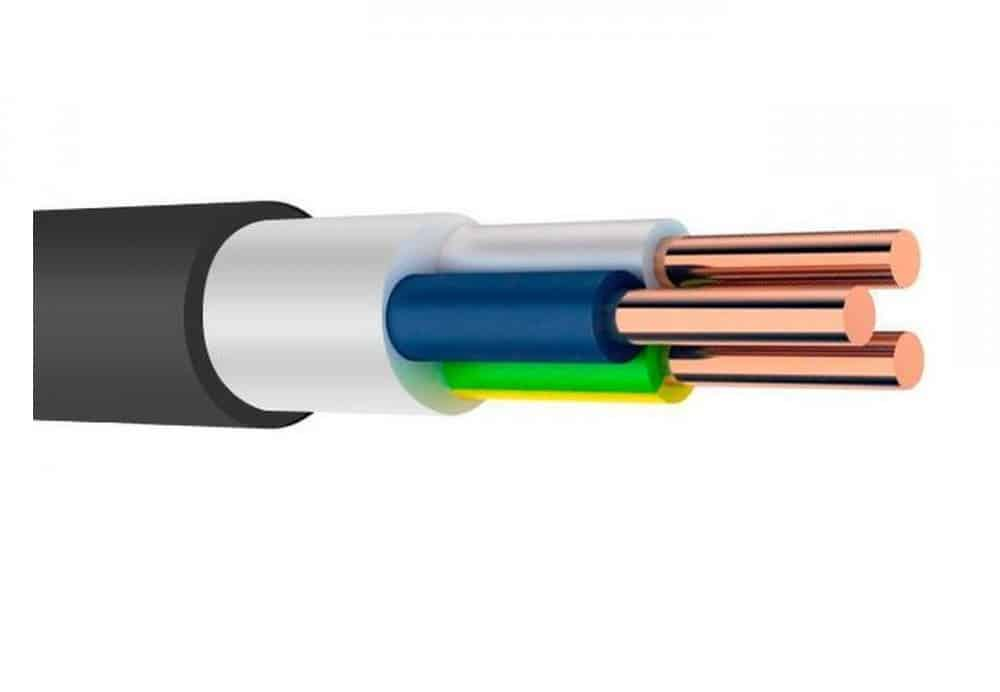 Пример кабеля с двойной изоляцией
