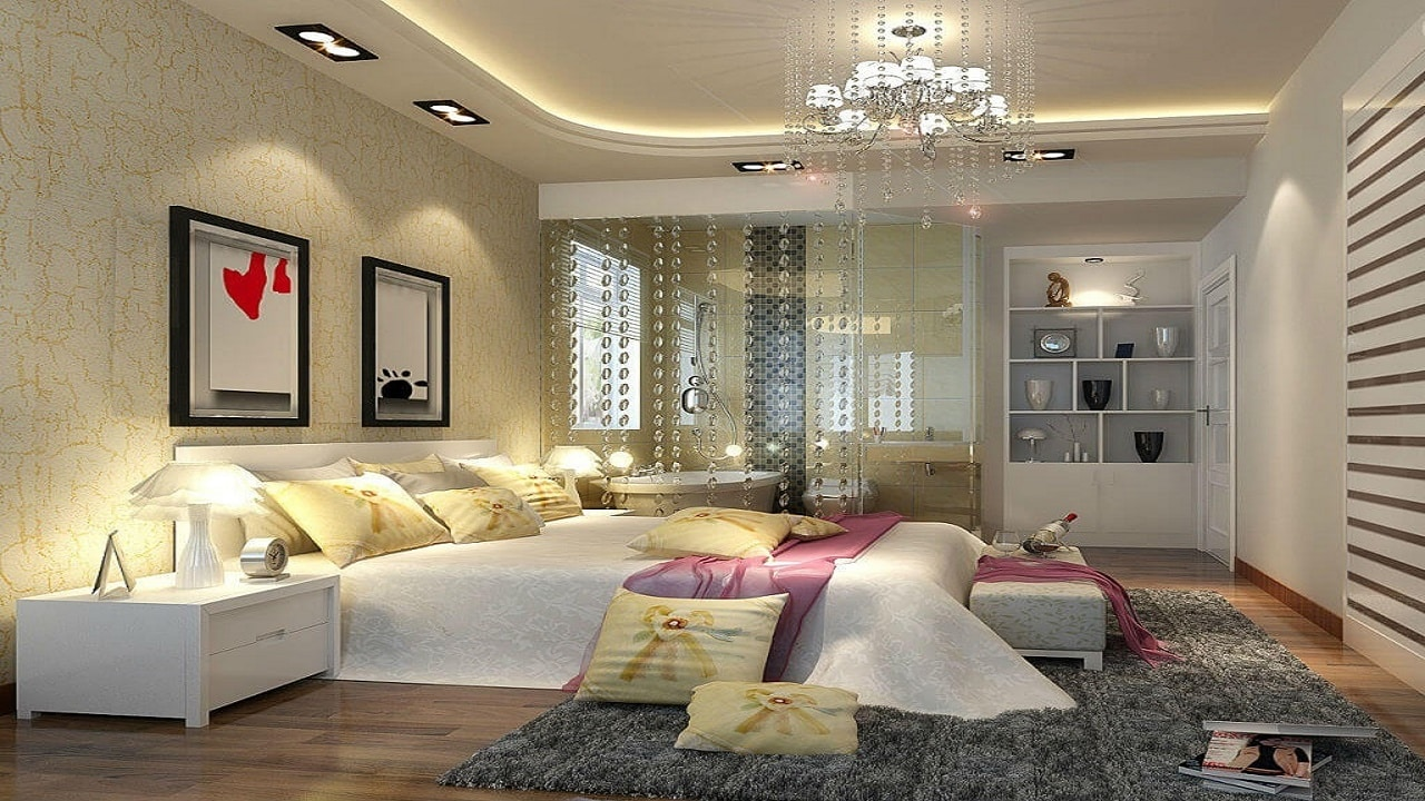 Варианты освещения взрослой спальни
