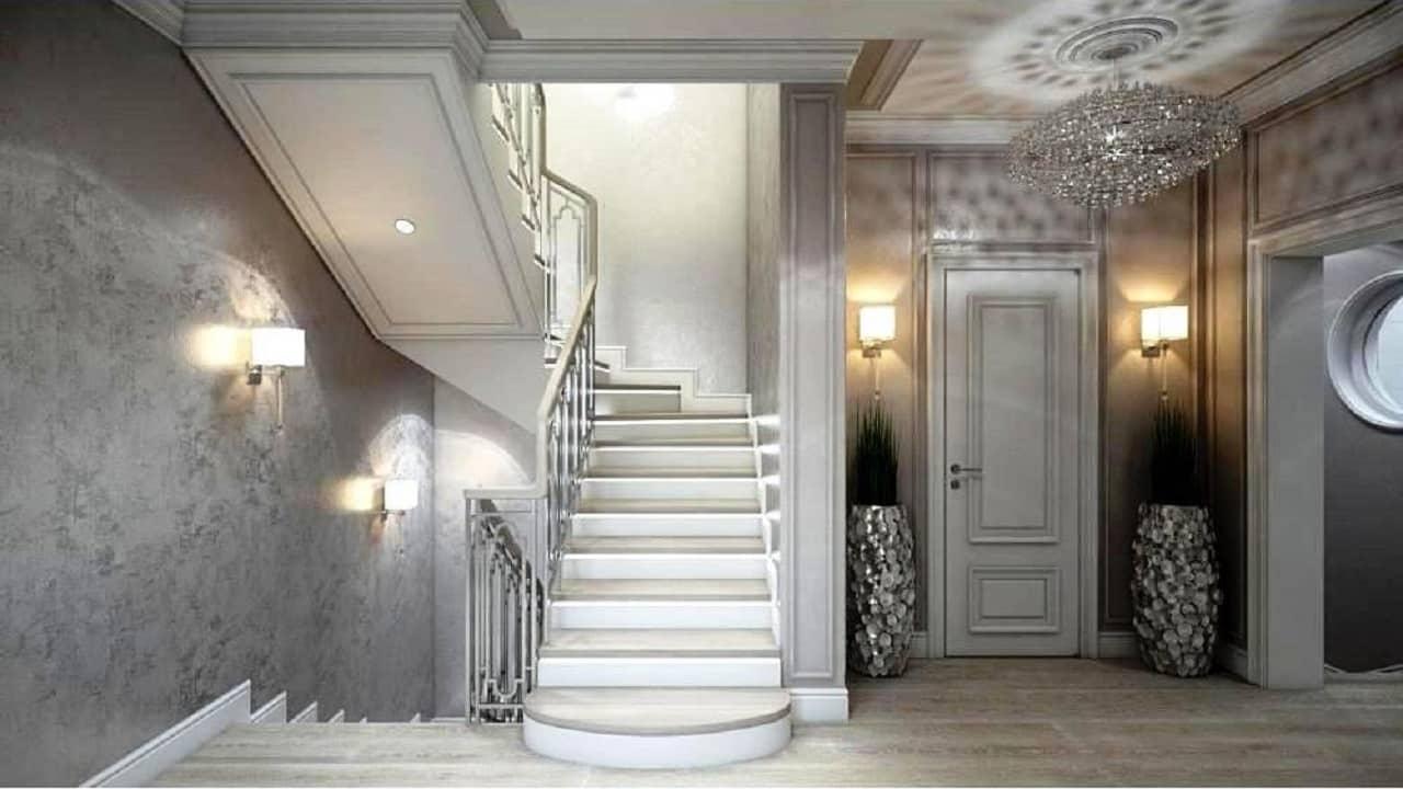 Освещение лестницы в коридоре