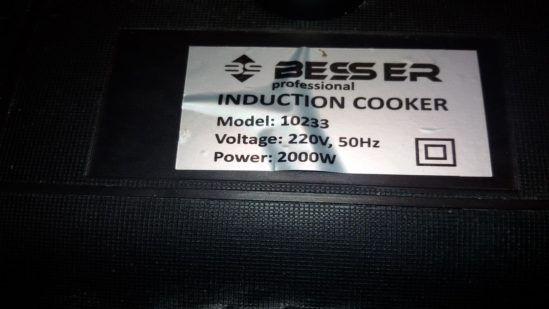 Индукционная плита besser