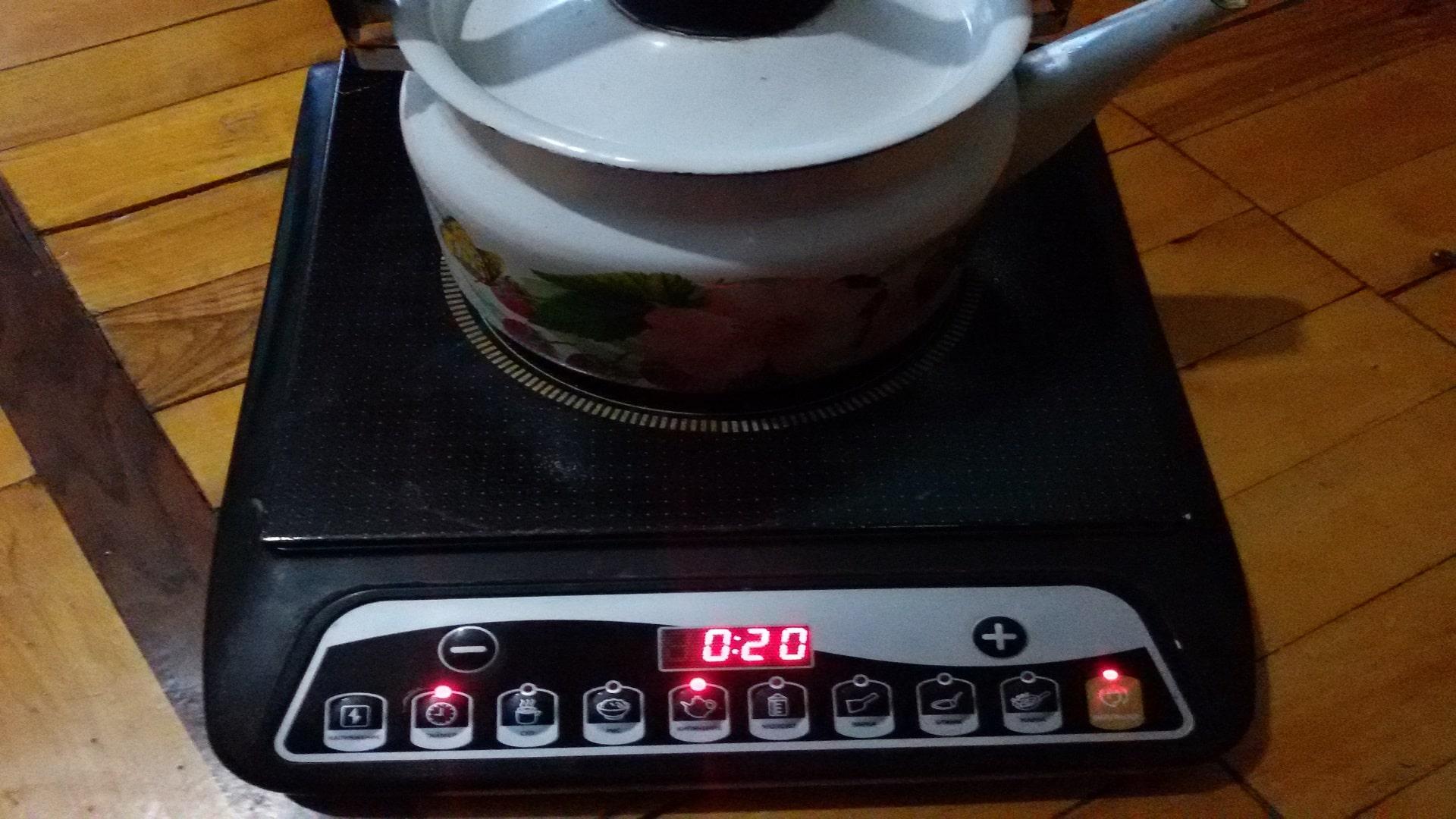 Рабочая портативная индукционная плита