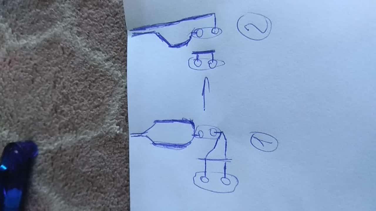 Схема для подключения розетки