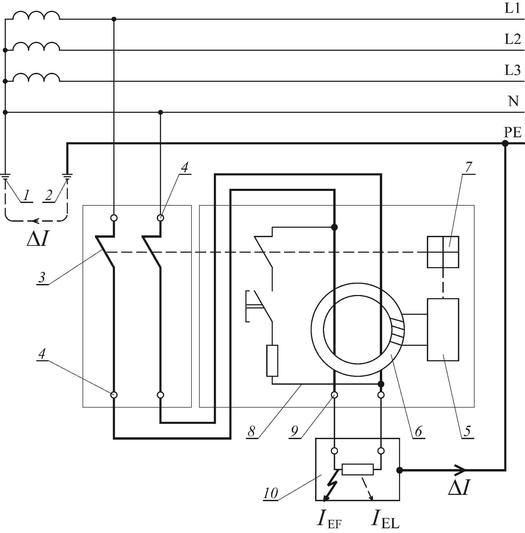 Схема АВДТ