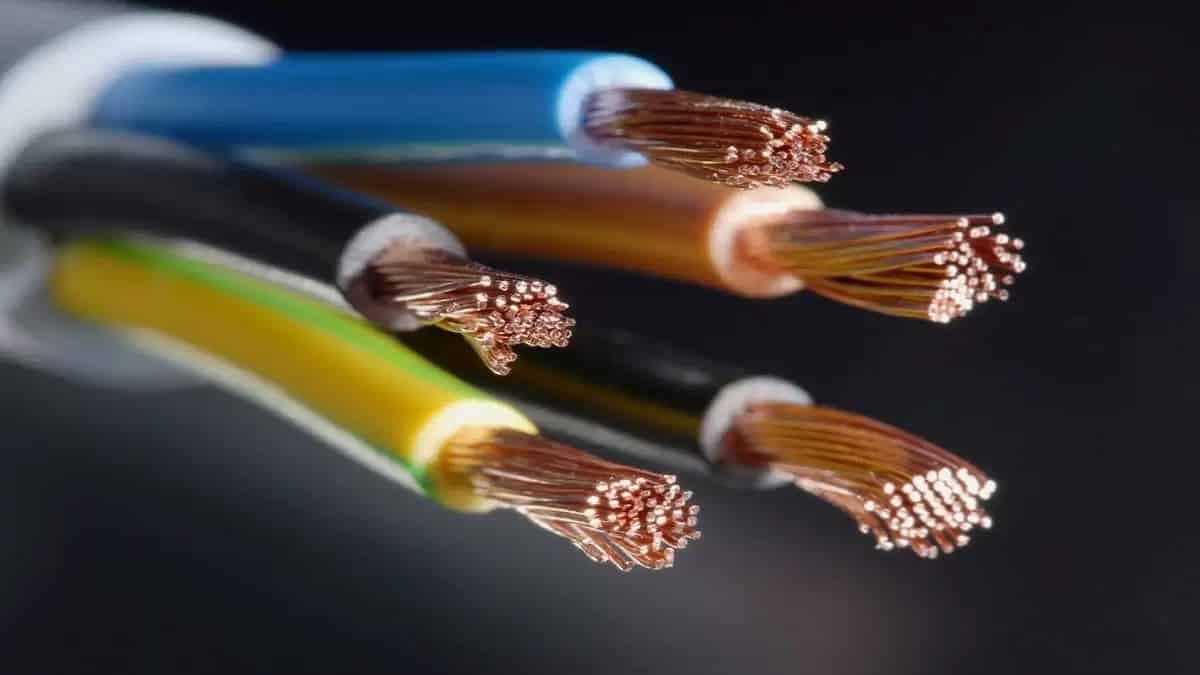 Жилы кабеля - как пример проводников