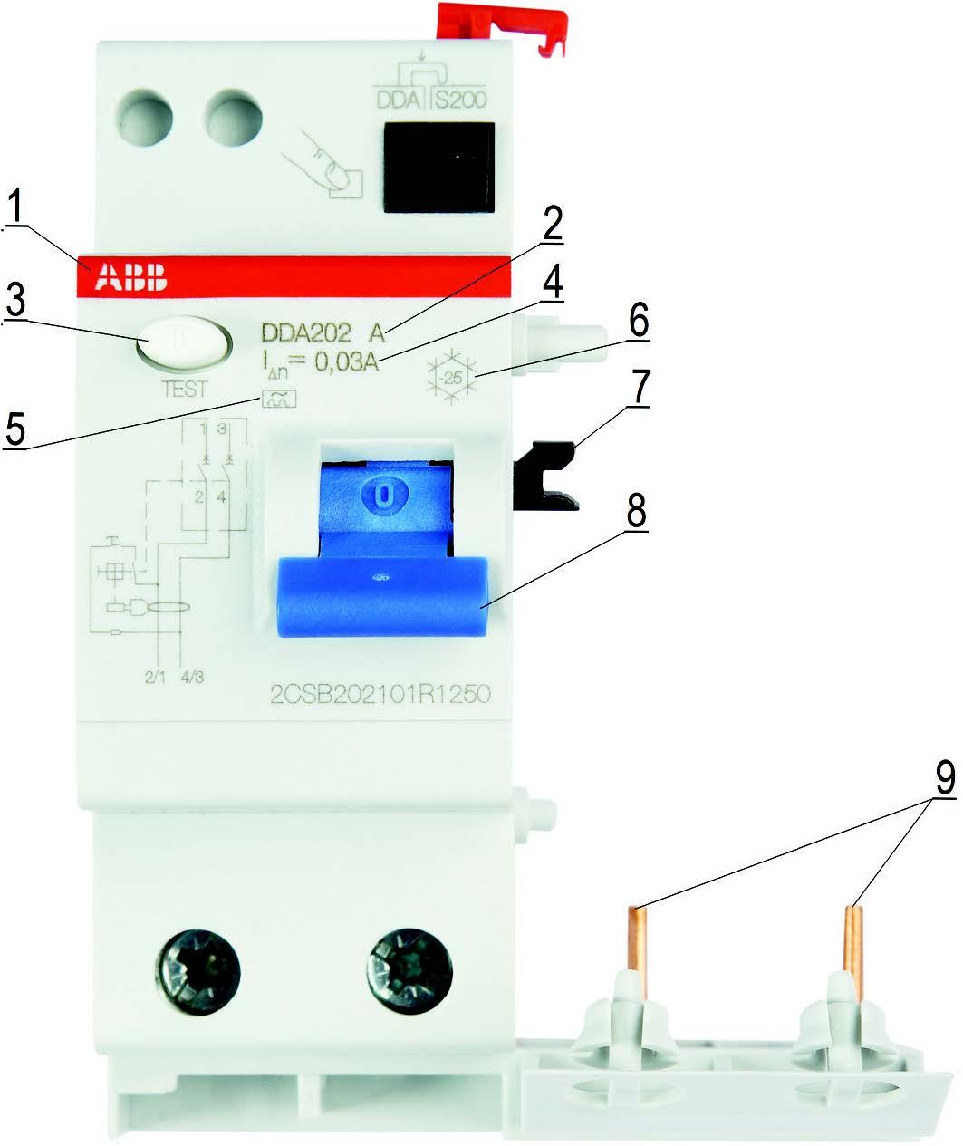 Маркировка двухполюсного БДТ серии DDA 202