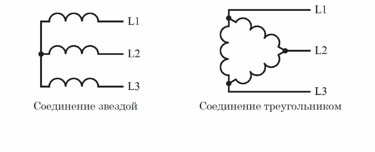 Трехфазные трехпроводные системы