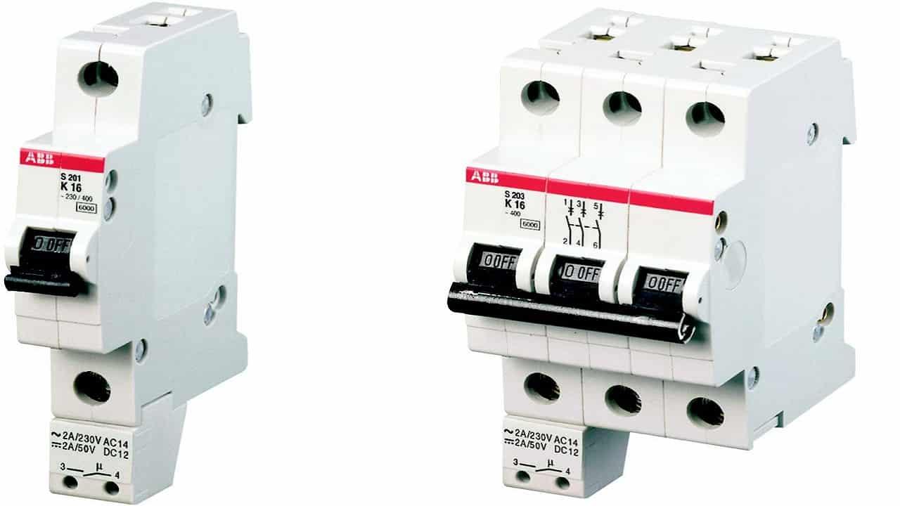 Блок-контакты устанавливаемые снизу автоматических выключателей